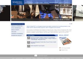 starhillglobalreit.listedcompany.com