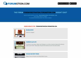 starsmydestination.forumotion.com