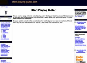 start-playing-guitar.com