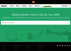 start.asustor.com