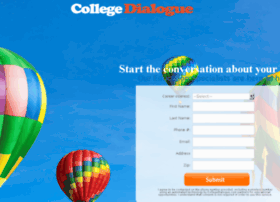 start.collegedialogue.com