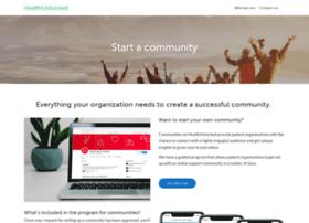 start.healthunlocked.com