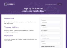 start.heroku.com