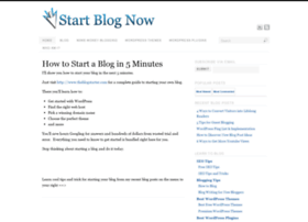 startblognow.com