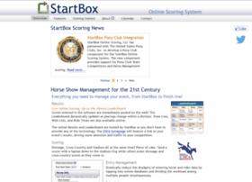 startboxscoring.com