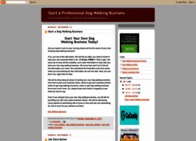 startdogwalkingbusiness.info