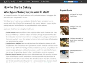 starting-a-bakery.com