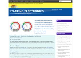 startingelectronics.com