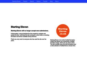 startingeleven.co.uk