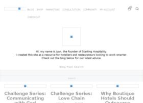 startinghospitality.com