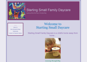 startingsmalldaycare.com