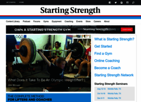 startingstrength.com