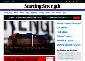 startingstrength.com