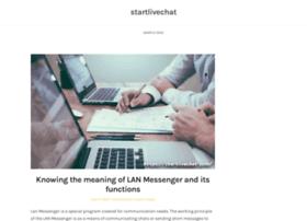 startlivechat.com