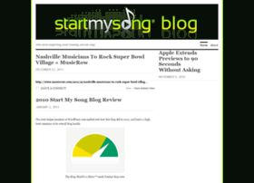 startmysongblog.wordpress.com