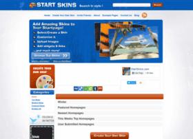 startpageskins.com