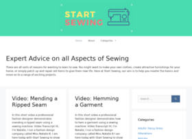 startsewing.co.uk