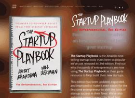startup-playbook.com