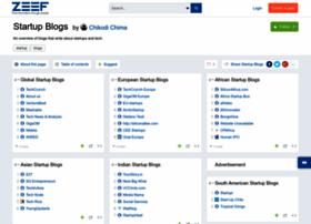 startupblogs.zeef.com