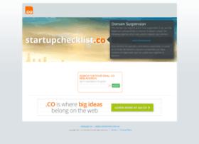 startupchecklist.co