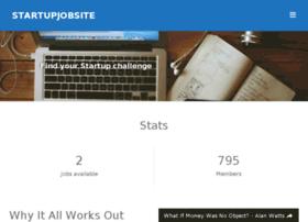 startupjobsite.com