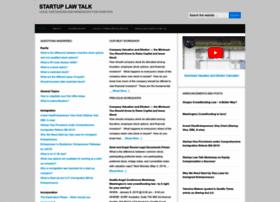 startuplawtalk.com