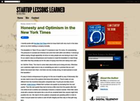 startuplessonslearned.com
