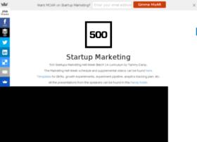 startupmarketing.tammycamp.com