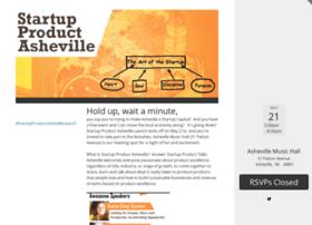 startupproductashevillelaunch.splashthat.com