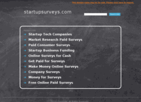 startupsurveys.com