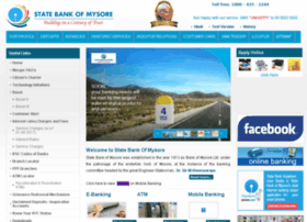 statebankofmysore.co.in