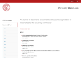 statements.cornell.edu