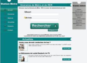 station-metro.fr