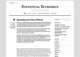 statisticaleconomics.org
