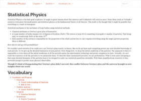 statisticalphysics.openmetric.org