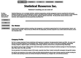 statisticalresources.com