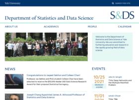 statistics.yale.edu
