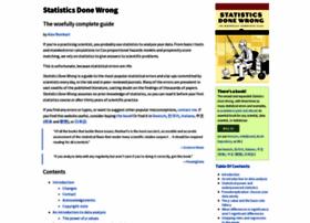 statisticsdonewrong.com