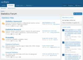 statisticsforum.com