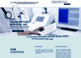 statmedicaltranscriptionservices.com