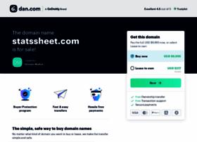 statssheet.com
