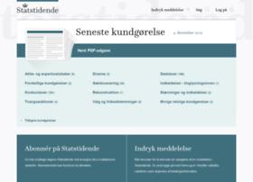 statstidende.dk