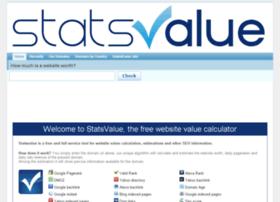 statsvalue.com