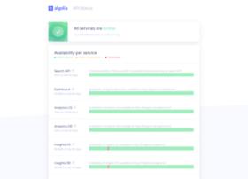 status.algolia.com