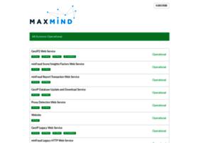 status.maxmind.com