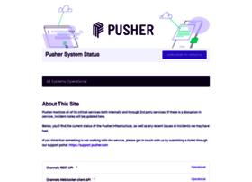 status.pusher.com