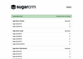 status.sugarcrm.com