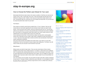 stay-in-europe.org