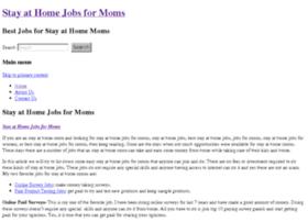 stayathomejobsformoms.org
