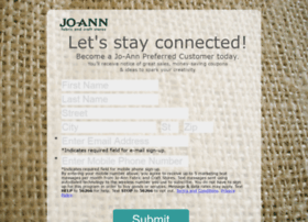 stayconnected.joann-mail.com